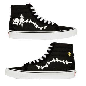 ❤️VANS Sk8-Hi Peanuts Snoopy Woodstock Bones ~ 8